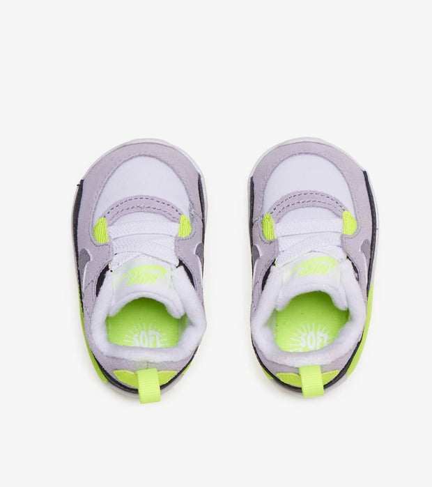 "Nike  Air Max 90 Crib ""Volt""  White - CI0424-101 