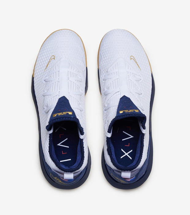 "Nike  LeBron XVI Low ""Americana""  White - CI2668-101 