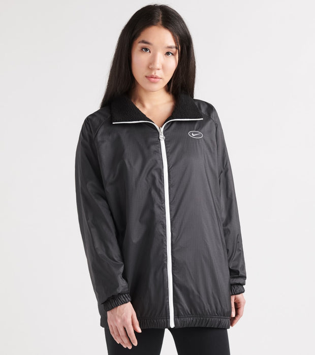 Nike  NSW Swoosh Jacket Sherpa  Black - CI8937-010 | Jimmy Jazz
