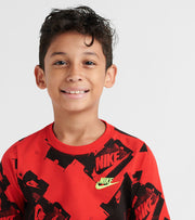 Nike  Boys 8-20 NSW Tee Shoebox Tee  Red - CI9622-657 | Jimmy Jazz