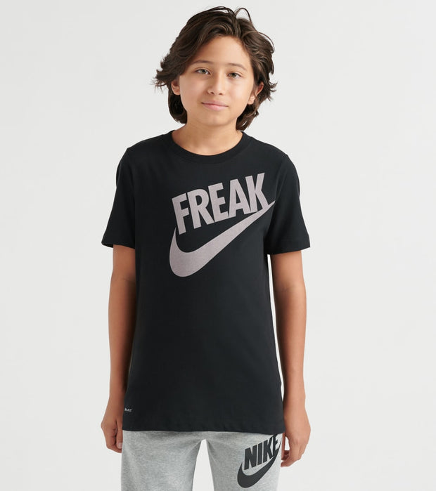 Nike  Boys 8-20 Giannis B Nk Dry Tee Dfct  Black - CI9655-010 | Jimmy Jazz