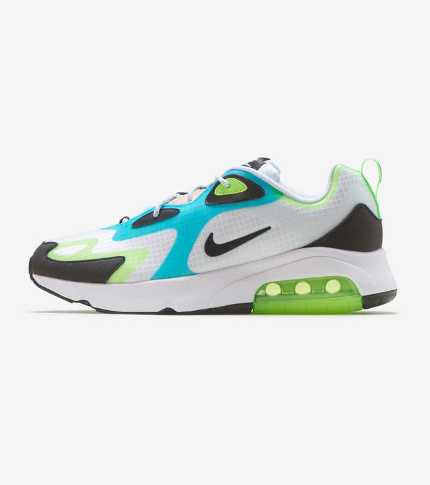 "Nike  Air Max 200 SE ""Electric Green""  White - CJ0575-101 