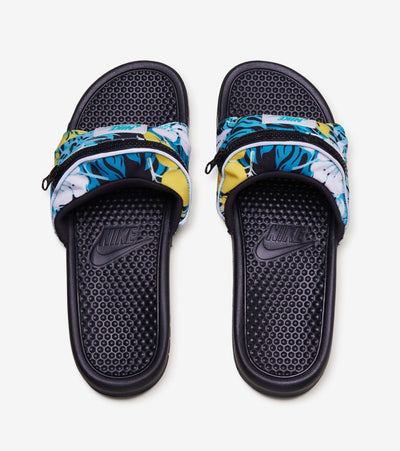 Nike  Benassi JDI Fanny Pack Print Slide  Blue - CJ2967-300 | Jimmy Jazz