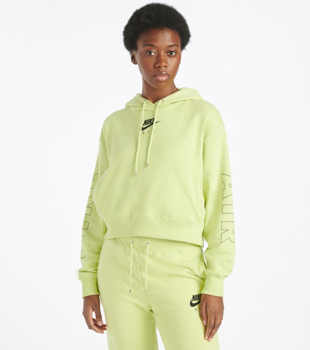 Nike  NSW Air Fleece Hoodie  Green - CJ3082-367 | Jimmy Jazz