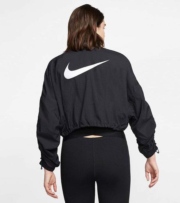 Nike  NSW Swoosh Woven Jacket  Black - CJ3773-010 | Jimmy Jazz