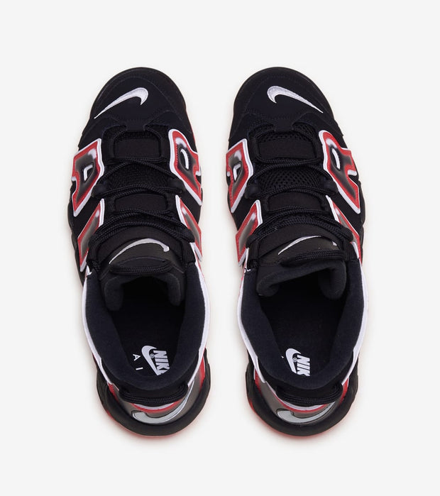 "Nike  Air More Uptempo 96 ""Laser Crimson""  Black - CJ6129-001 