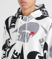 Nike  NSW Club Pullover Hoodie  Black - CJ6312-010 | Jimmy Jazz