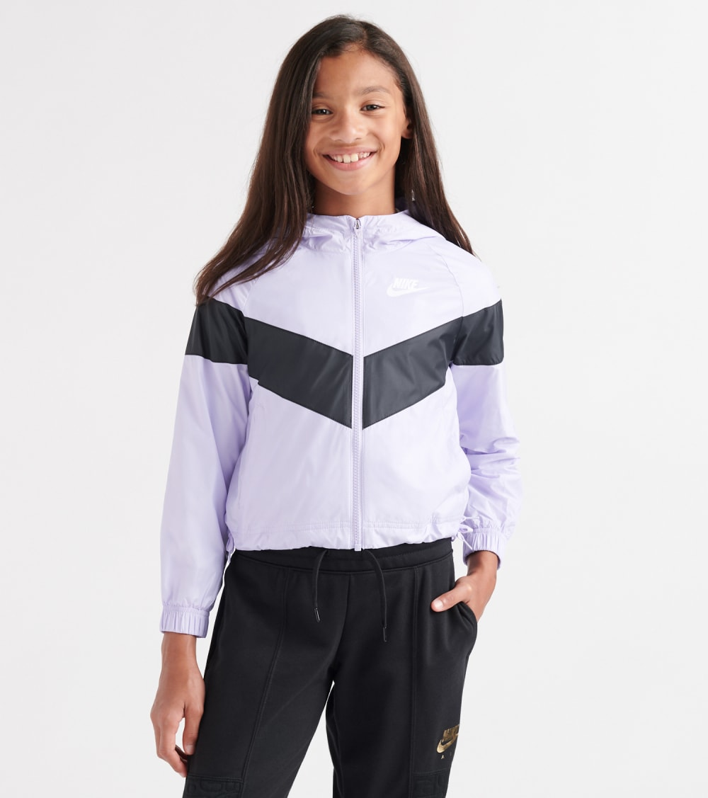 Nike  Girls 7-16 NSW Work Jacket  Purple - CJ6945-539 | Jimmy Jazz