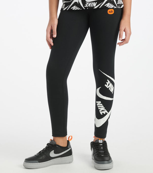 Nike  Girls 7-16 NSW Favorites Marker Legging  Black - CJ7423-010 | Jimmy Jazz