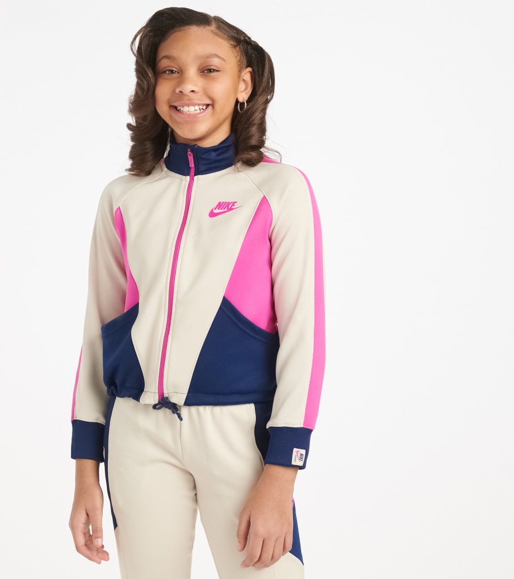 Nike  Girls 7-16 NSW Heritage Full Zip Jacket  Multi - CJ7424-104 | Jimmy Jazz