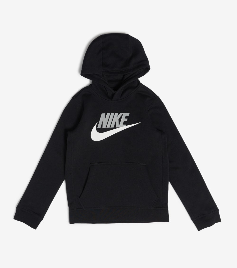 Nike  Boys NSW Club Fleece Pullover Hoodie  Black - CJ7861-011 | Jimmy Jazz