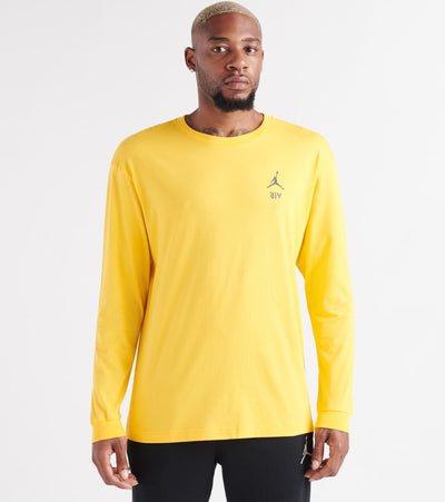 Jordan  LGC AJ4 LS Tee  Yellow - CJ9077-726 | Jimmy Jazz