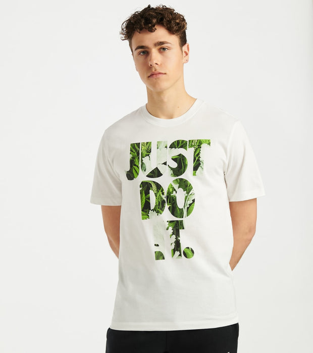Nike  NSW Just Do It Floral Tee  White - CK2295-100 | Jimmy Jazz