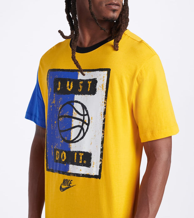 Nike  NSW Tee Remix 2  Gold - CK2680-739 | Jimmy Jazz