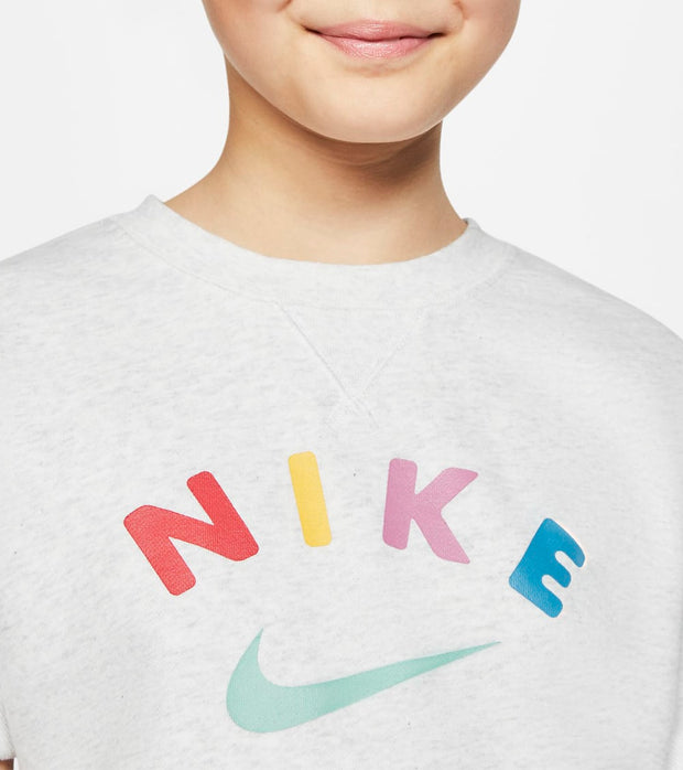 Nike  NSW Crew Fleece  Grey - CK2775-051 | Jimmy Jazz