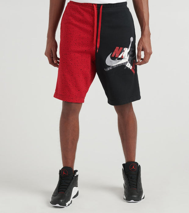 Jordan  MJ Classic Lettering Fleece Shorts  Black - CK2854-010 | Jimmy Jazz