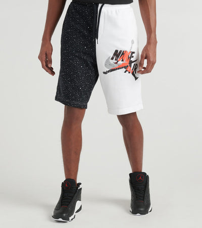 Jordan  MJ Classics Lettering Fleece Shorts  White - CK2854-100 | Jimmy Jazz