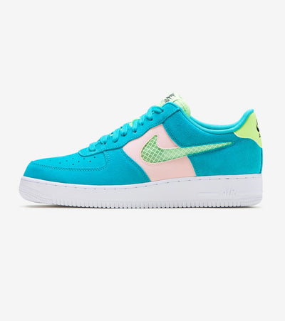"Nike  Air Force 1 07 LV8 ""Oracle Aqua""  Green - CK4383-300 