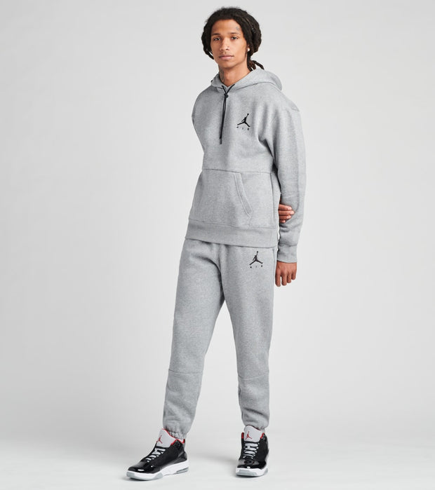 Jordan  Jumpman Air Fleece Pullover Hoodie  Grey - CK6684-091 | Jimmy Jazz