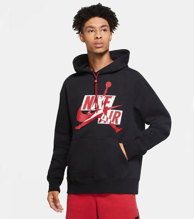 Jordan  Jumpman Classics Fleece Pullover Hoodie  Black - CK6737-011 | Jimmy Jazz