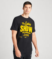 Nike  Los Angeles Lakers Short Sleeve Tee  Black - CK8768-010 | Jimmy Jazz