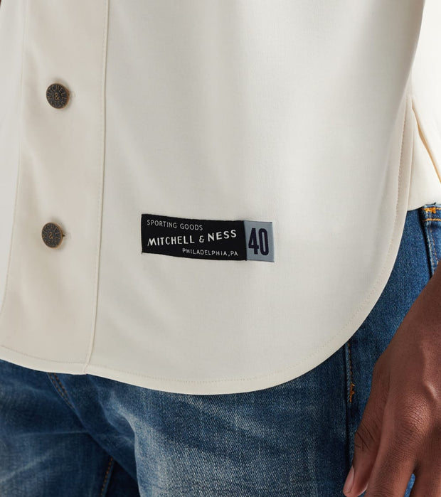 Mitchell And Ness  Baseball Button-Down Jersey  White - CL18100MNN-OFW | Jimmy Jazz