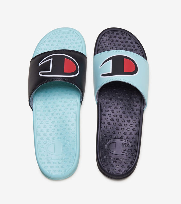 Champion  Super Slide Mix Match Slides  Black - CM100338M | Jimmy Jazz