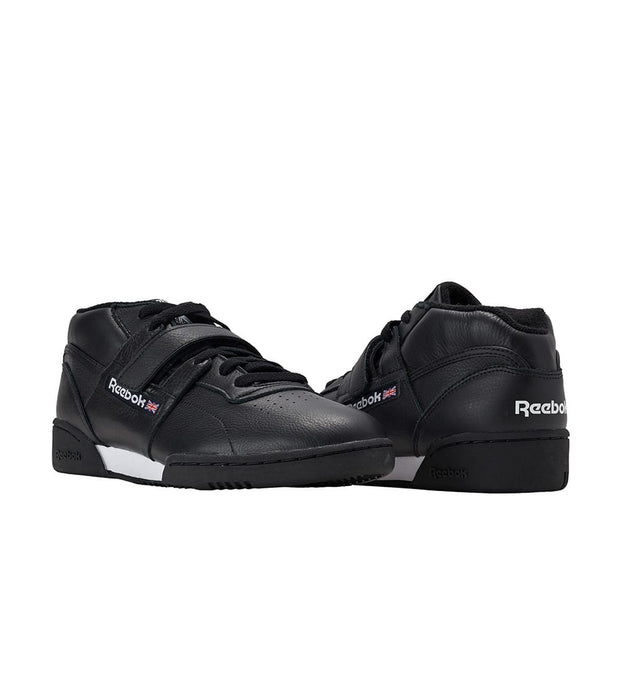Reebok  Workout Clean Mid Strap MU  Black - CN3916 | Jimmy Jazz