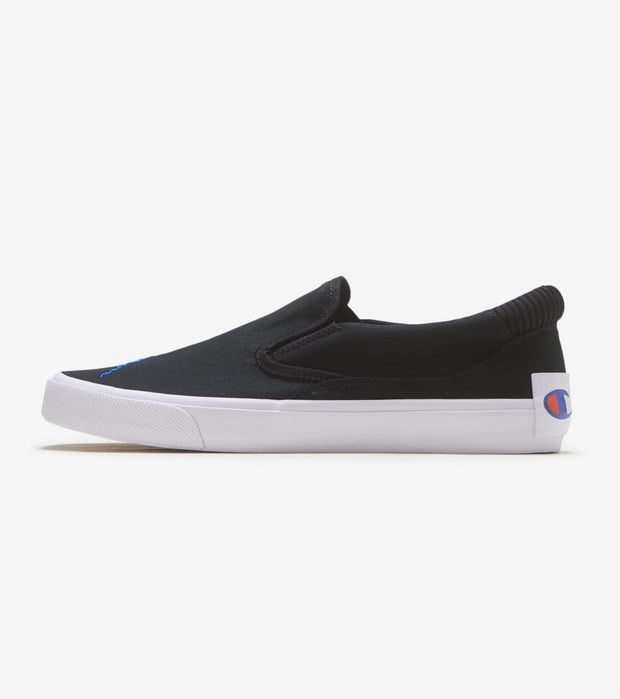 Champion  Fringe Slip On  Black - CP100557M | Jimmy Jazz