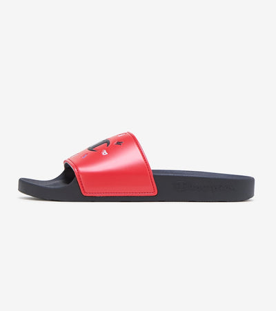 Champion  IPO Circular Slide  Red - CP101078M | Jimmy Jazz