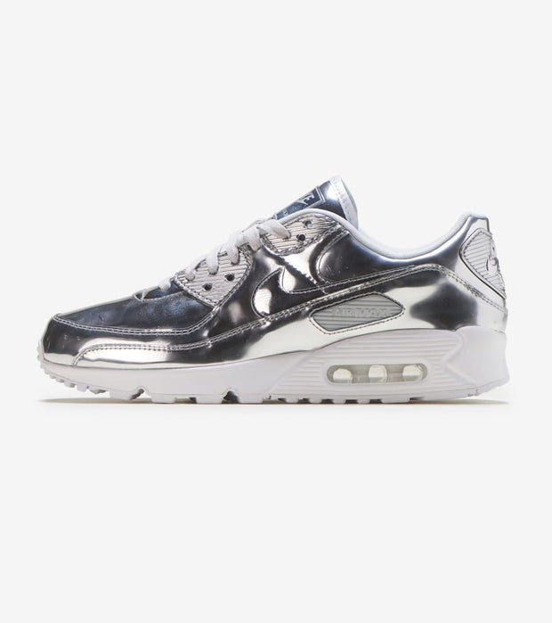 "Nike  Air Max 90 SP QS ""Silver Medal""  White - CQ6639-001 