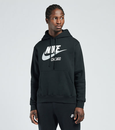 Nike  NSW Club Fleece Chicago Hoodie  Black - CQ7219-010 | Jimmy Jazz