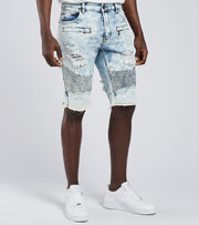 Crysp  Van Eyck Denim Shorts  Blue - CRYSP08RL32-BLU | Jimmy Jazz
