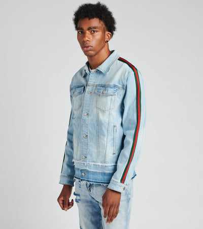 Crysp  Kai Denim Jacket  Blue - CRYSP119-211 | Jimmy Jazz