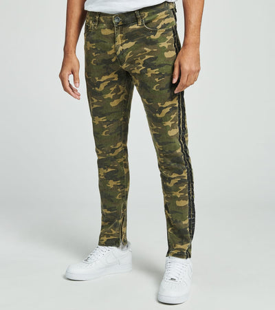 Crysp  Basquiat Camo Jeans L32  Camo - CRYSP32RL32-CAM | Jimmy Jazz