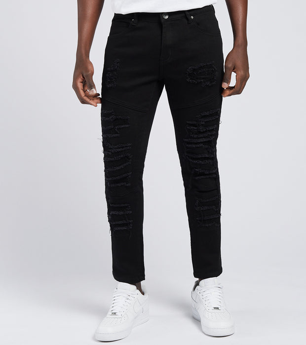 Crysp  Magritte Distressed Jeans L30  Black - CRYSP33SL30-BLK | Jimmy Jazz