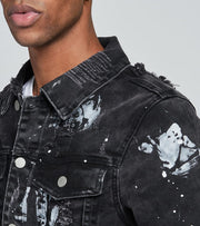 Crysp  Burch Denim Jacket  Black - CRYSP42-BKW | Jimmy Jazz