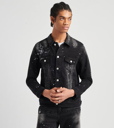 Crysp  Lando Denim Jacket  Blue - CRYSPBUC76-BLK | Jimmy Jazz