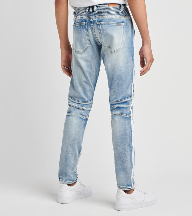 Crysp  Jamie Biker Jeans  L32  Blue - CRYSPBUC78R-DNM | Jimmy Jazz