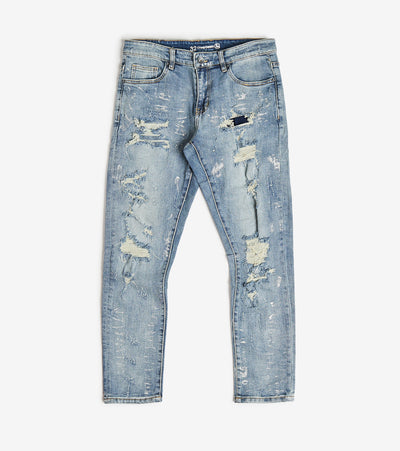 Crysp  Noah Distressed Jeans L32  Blue - CRYSPBUC87-DNM | Jimmy Jazz