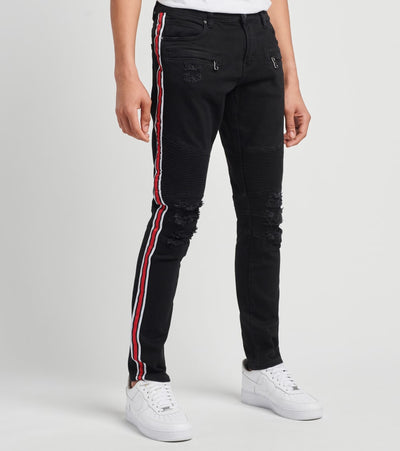 Crysp  Noah Denim Jeans L33  Black - CRYSPBUC88-BLK | Jimmy Jazz