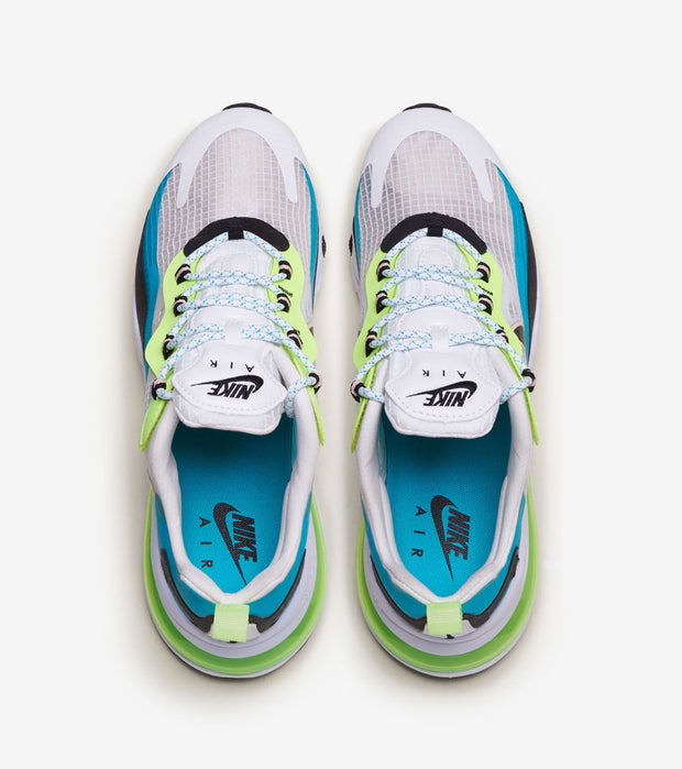 "Nike  Air Max 270 React SE ""Oracle Aqua""  White - CT1265-300 