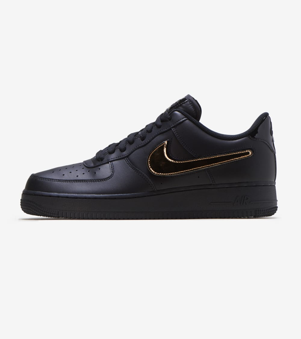 Nike Air Force 1 07 LV8 Shoes in Black/White Size 12 ...