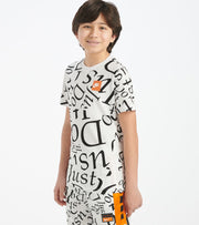 Nike  Boys 8-20 NSW All Over Print Tee  White - CT2617-100 | Jimmy Jazz