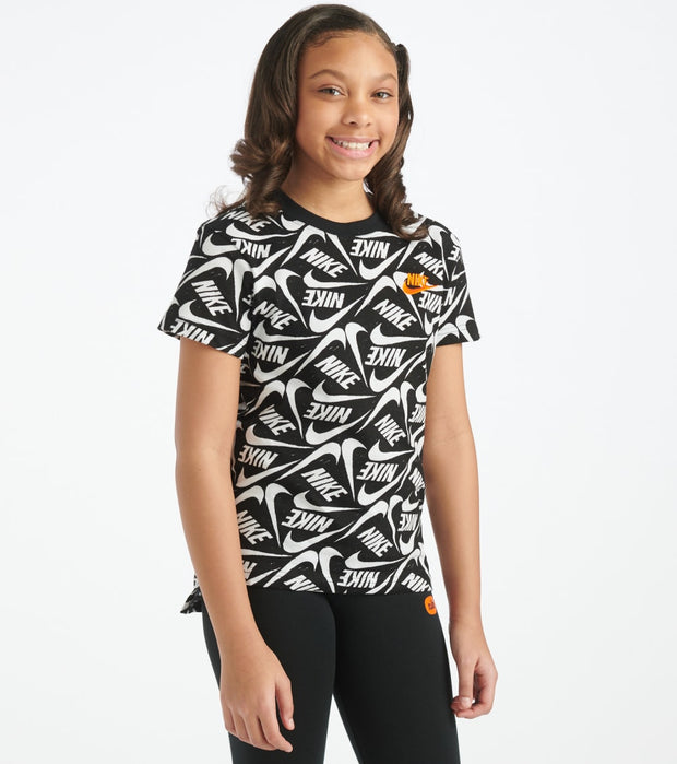 Nike  Girls NSW Just Do It Tee  Black - CT2777-100 | Jimmy Jazz