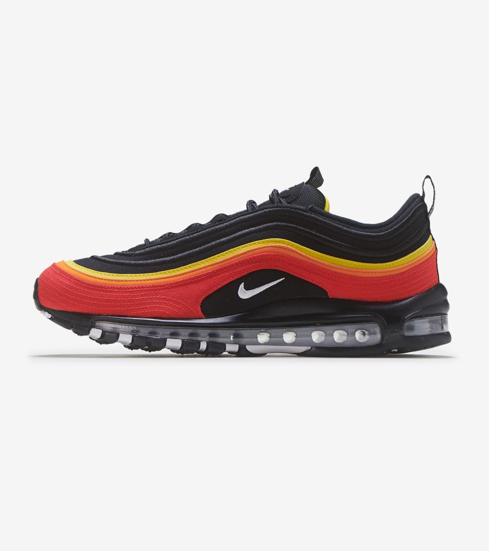 Nike Air Max 97 Shoes in Black/Red