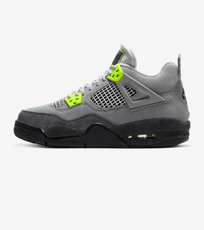 "Jordan  Air Jordan 4 Retro ""95 Neon""  Grey - CT5343-007 