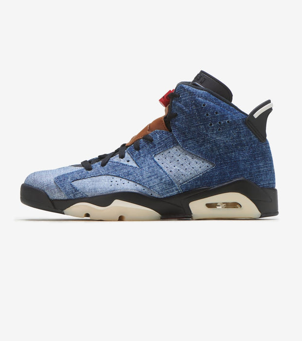 "Jordan  Air Jordan 6 Retro ""Washed Denim""  Blue - CT5350-401 