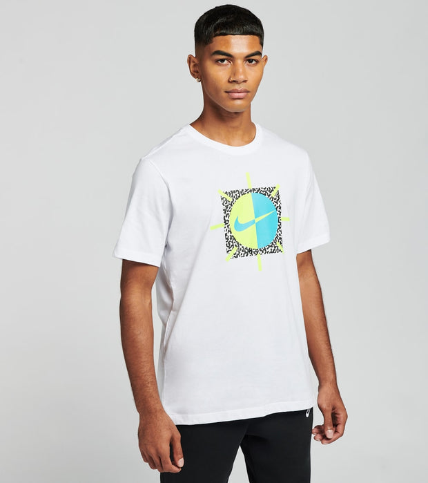 Nike  NSW Aqua Swoosh Tee  White - CT6580-100 | Jimmy Jazz