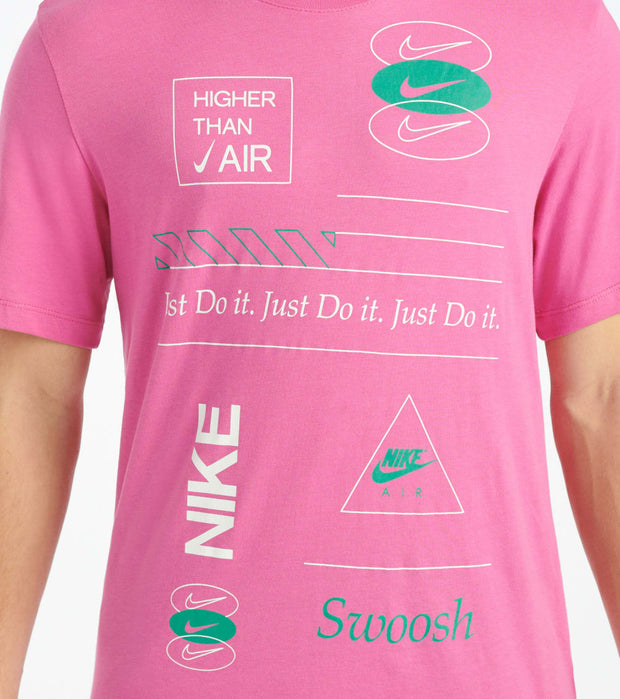 Nike  NSW Pack 2 Tee 3  Pink - CU0080-623 | Jimmy Jazz